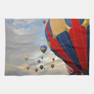 Hot Air Balloon in Reno Nevada Hand Towel