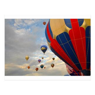 Hot Air Balloon in Reno Nevada Postcard