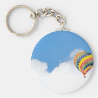 hot-air-balloon keychain