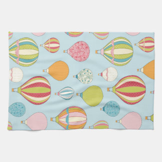 Hot Air Balloon Kitchen Towel