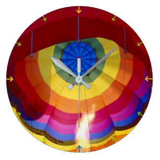 Hot Air Balloon Large Clock
