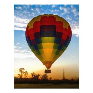 Hot Air Balloon Letterhead