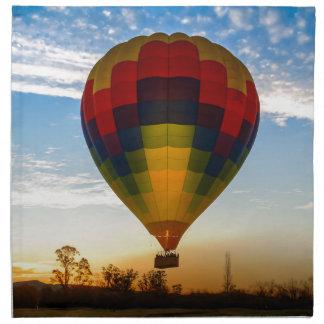 Hot Air Balloon Napkin