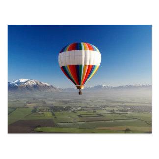 Hot-air Balloon, near Methven, Canterbury 3 Postcard