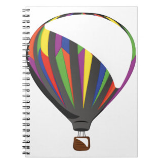 Hot Air Balloon Note Books