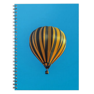 Hot air balloon notebook
