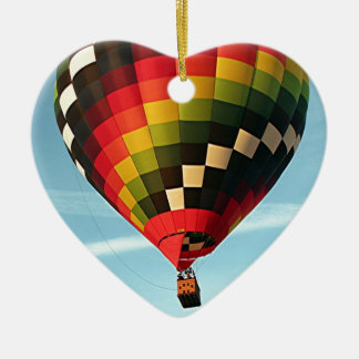 Hot air balloon, Orlando, Florida, USA 1 Ceramic Ornament