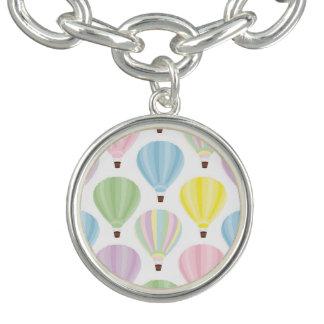 Hot Air Balloon Pastel Pattern Bracelet