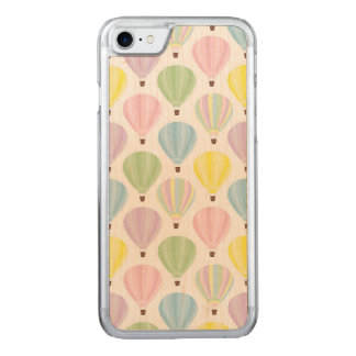 Hot Air Balloon Pastel Pattern Carved iPhone 8/7 Case
