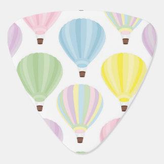 Hot Air Balloon Pastel Pattern Pick