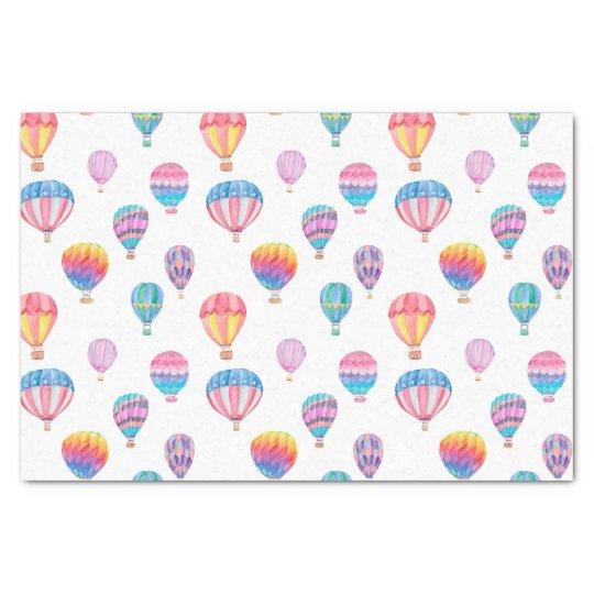 Hot Air Balloon Pattern Tissue Paper