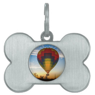 Hot Air Balloon Pet ID Tag
