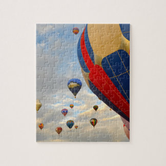 Hot Air Balloon Race in Reno Nevada Jigsaw Puzzle
