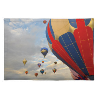 Hot Air Balloon Race in Reno Nevada Placemat