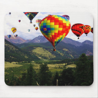 Hot Air Balloon Ride in the Rockies Mouse Pad