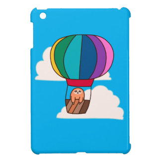 Hot Air Balloon Sloth iPad Mini Cases