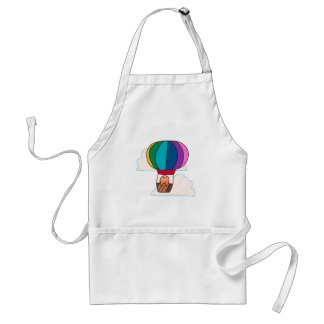 Hot Air Balloon Sloth Standard Apron