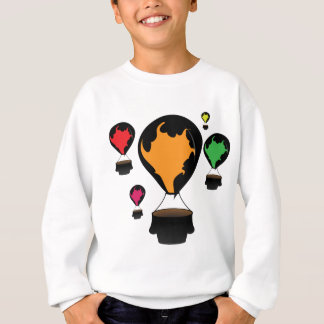 Hot air balloon sweatshirt