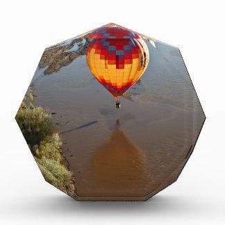 Hot Air Balloon Touching Rio Grande River