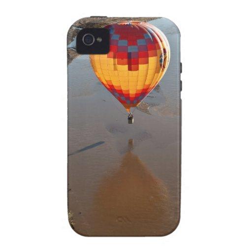 Hot Air Balloon Touching Rio Grande River iPhone 4/4S Cover