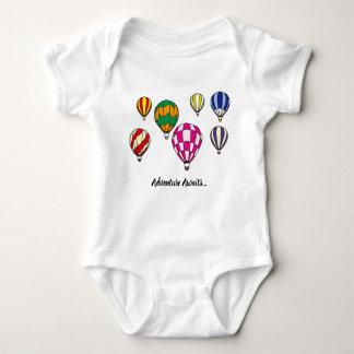 Hot Air Balloon Vest Baby Bodysuit