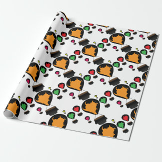 Hot air balloon wrapping paper