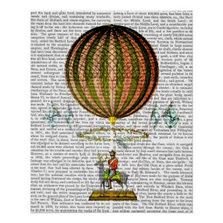 Hot Air Balloon Zephire Poster