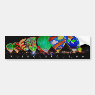 Hot Air Ballooning - Balloon Glow Festival Bumper Sticker