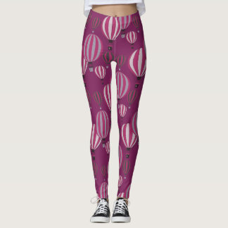 Hot Air Balloons around the leggings in 80 seconds
