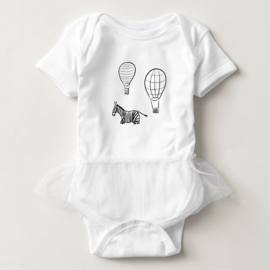 Hot Air Balloons Baby Bodysuit