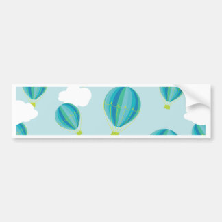Hot air balloons bumper sticker