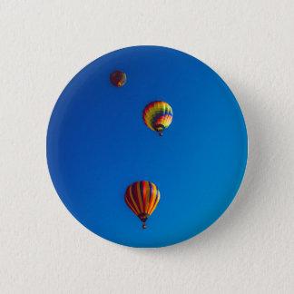 Hot Air Balloons Button Badge