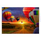 Hot Air Balloons Card