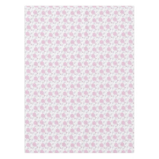 Hot air balloons in pink nursery art tablecloth