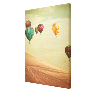 Hot Air Balloons In The Sky Canvas Print
