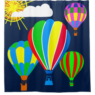 Hot Air Balloons in the sky funny