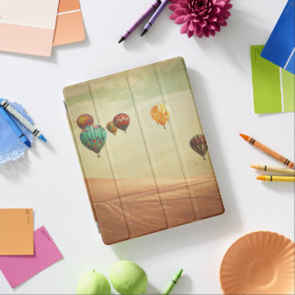 Hot Air Balloons In The Sky iPad Cover