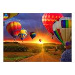 Hot Air Balloons Invitation