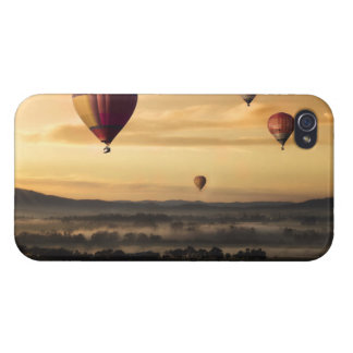 Hot air balloons iPhone 4/4S covers