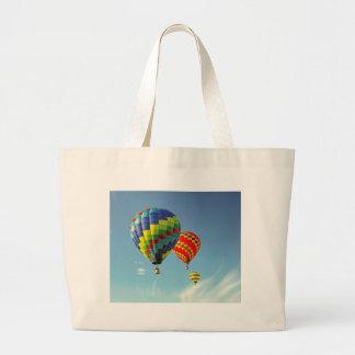 Hot Air Balloons Large Tote Bag