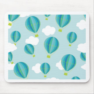 Hot air balloons mouse pad