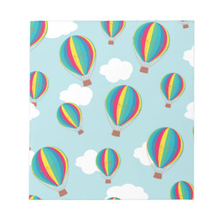 Hot air balloons notepad