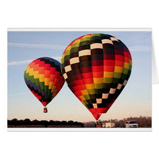 Hot air balloons, Orlando, Florida, USA 4 Card