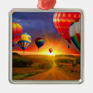 Hot Air Balloons Ornament