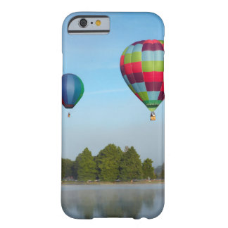 Hot air balloons over a lake,  NZ Barely There iPhone 6 Case
