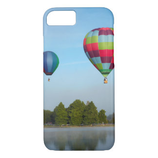 Hot air balloons over a lake,  NZ iPhone 8/7 Case