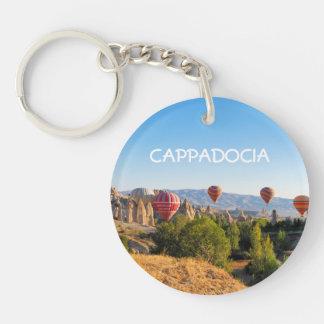 Hot air balloons over Cappadocia Keychain