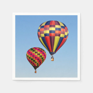 Hot Air Balloons Paper Napkins