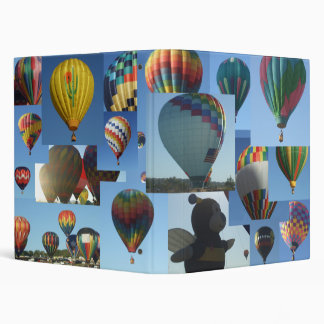 Hot Air Balloons Photo Collage Binder