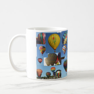 Hot Air Balloons Photo Collage Mug